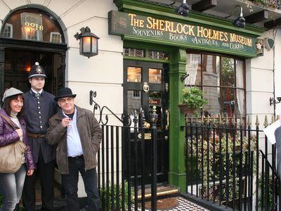 This charming museum is always very popular with fans of the famous detective