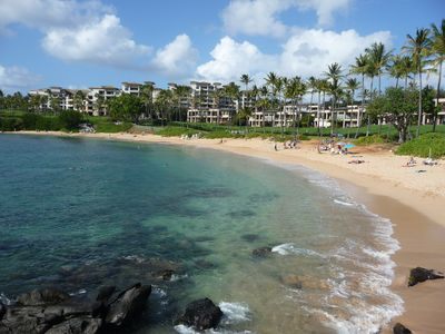 Famous Kapalua Bay is also a few minutes walking distance from the condo