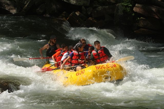 Rafting the Nantahala!