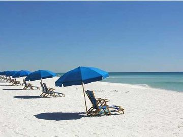 "Enjoy the famous ""Sugar White"" sands of Miramar Beach!"