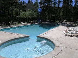 Warriors Mark Breckenridge condo photo - Outdoor HEATED Pool