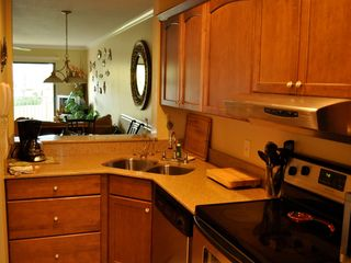 Kitchen, Fully Equipped. - Crescent Beach condo vacation rental photo