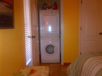 Washer & Dryer - located in Master Bedroom