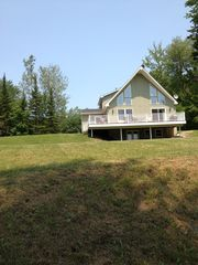 Hinsdale house photo - New deck/almost 1 full acre