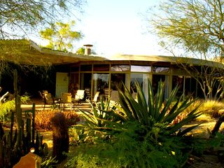 Desert Hot Springs house photo - Front Cactus Garden
