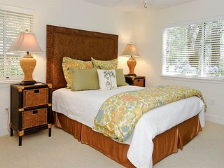 Sea Pines house photo - Guest bedroom 2: Queen with TV/DVD