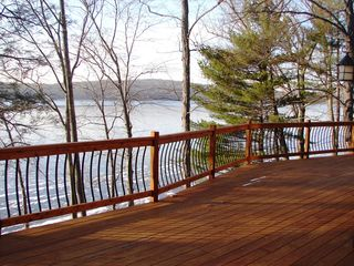 Lake Wallenpaupack house photo - View from the deck