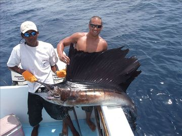 Amazing deep sea fishing