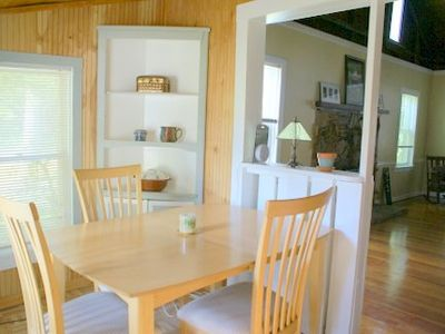 Cabin Dining Area off of kitchen