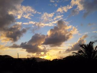 St. Croix house photo - Another gorgeous sunset from the deck here in Cane Bay.