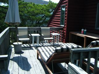South Bethany Beach house photo - back deck (connects to side deck)