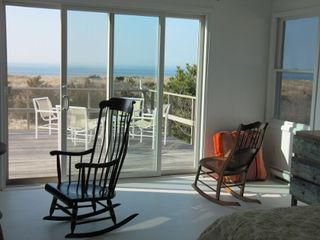 Peconic house photo - Wake up to gorgeous water views and direct access to deck from master bedroom