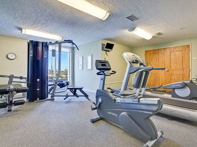 Work out and fitness room