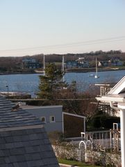 Stonington house photo - view from kitchen windows