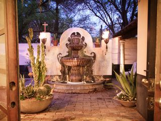 Tucson estate photo - Outdoor fountain