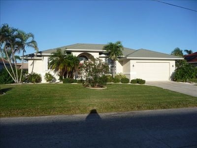 Gorgeous culdesac home with pool on gulf access canal. Built in 1993.