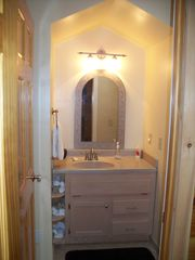 Ellijay cabin photo - Vanity in Upper Master