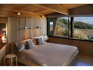 Sea Ranch house photo - The Master Bedroom with an ocean view .