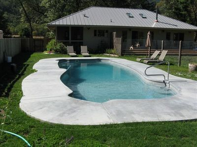 3- 8 ft deep swimming pool