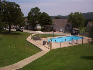 Branson condo photo - outdoor pool in back of condo