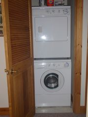 Jay Peak condo photo - washer and dryer