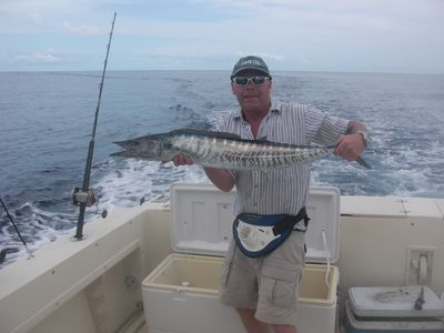 Wahoo caught off the coast.