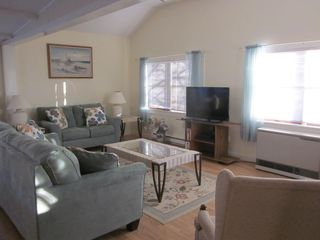 Plum Island house photo - Living room with HD flat screen TV