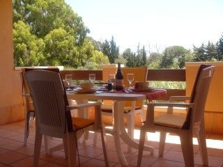 Marbella Town apartment rental - Apartment balcony with al fresco dining area and tranquil views