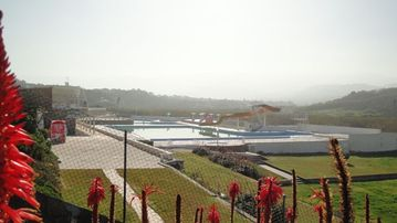 Openair pool at Praia das Macas