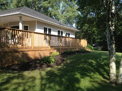 Family-friendly home, minutes from great beaches & dunes at Sandbanks