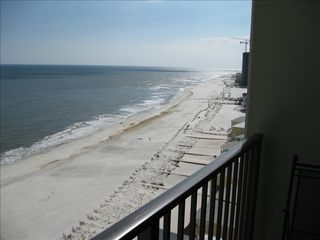 Orange Beach condo photo - Beach view from the balcony
