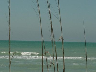 Gorgeous beaches and blue green Gulf waters less than a mile from the condo
