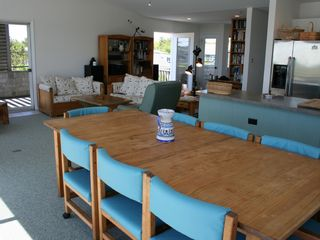 Living/dining/kitchen great room - Barnegat Light house vacation rental photo