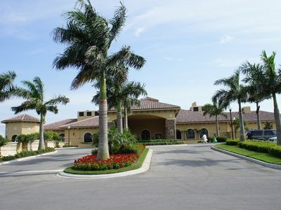 Exquisite clubhouse w/ pro shop, grille room, card room, billiards & fine dining