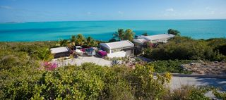 Providenciales - Provo villa photo - View from the top of the hill