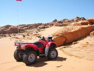 St. George house photo - Sand Hollow ATV on beautiful sands dunes