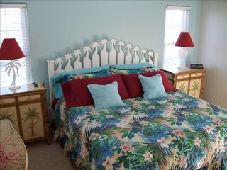 North Topsail Beach house photo - Oceanview master bedroom