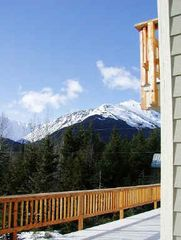 Girdwood lodge photo - Mountain views from Back Deck