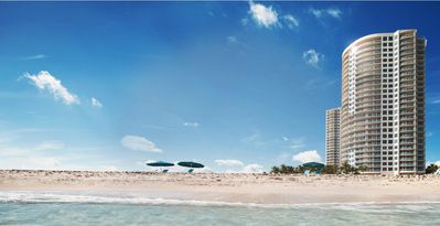 The Ritz Carlton beach and towers