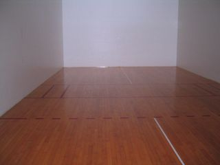 South Padre Island condo photo - 2 racquetball courts, also set for pickleball and badminton. Equipment in Lobby.