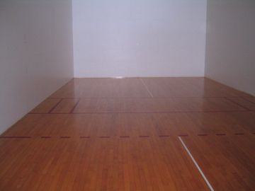 2 racquetball courts, also set for pickleball and badminton. Equipment in Lobby.