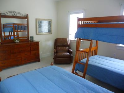 Seneca house rental - bunk room
