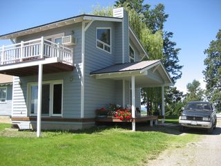Kalispell house photo - Exterior of house (before wrap-around decks added)