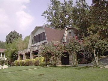 Muscle Shoals house rental - Riverside view of House