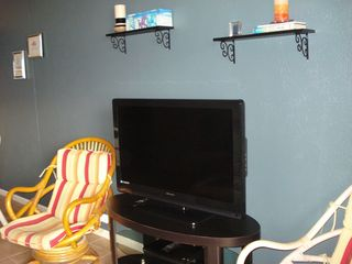 South Padre Island condo photo - NEWLY REDECORATED Living room