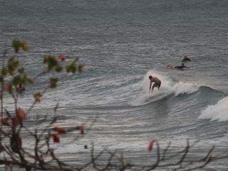 Rincon townhome photo - Surfers near the lighthouse