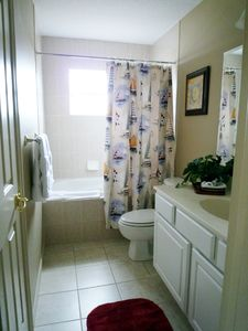 Bathroom which can be ensuite with twin room or shared.