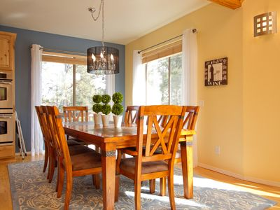 Elegant dining while enjoying Views, Prescott Vacation Home