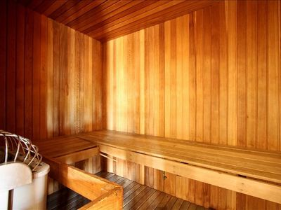 Relaxing Sauna for You, Free of charge.