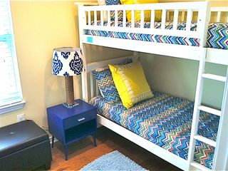 Crystal Beach house photo - Second Bunk room, Sleeps 2